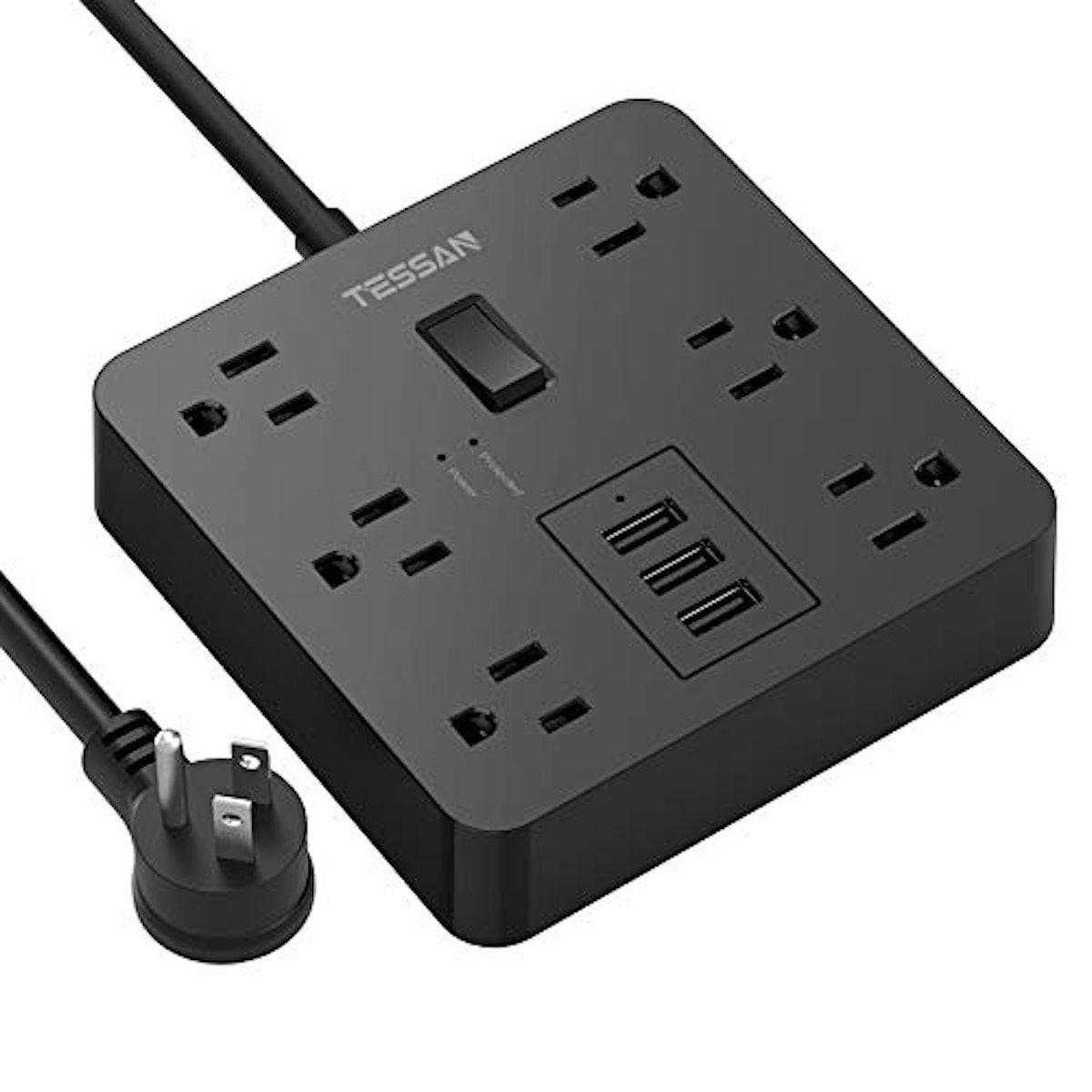 TESSAN Power Strip with USB