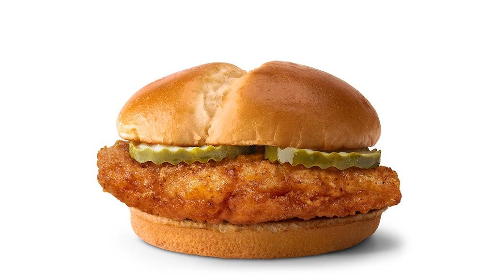 McDonald's Crispy Chicken Sandwich will be available on Feb. 24.