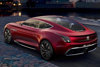 MG is expected to release an electric coupe in 2021.