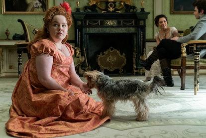 Nicola Coughlin as Penelope Featherington in 'Bridgerton,' via the Netflix press site.