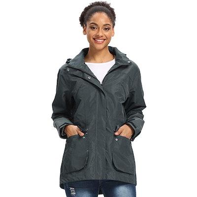 Freetrack Light Hooded Raincoat