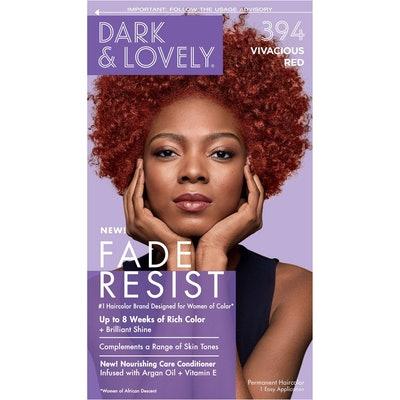 Fade Resist Permanent Hair Color in 394 Vivacious Red