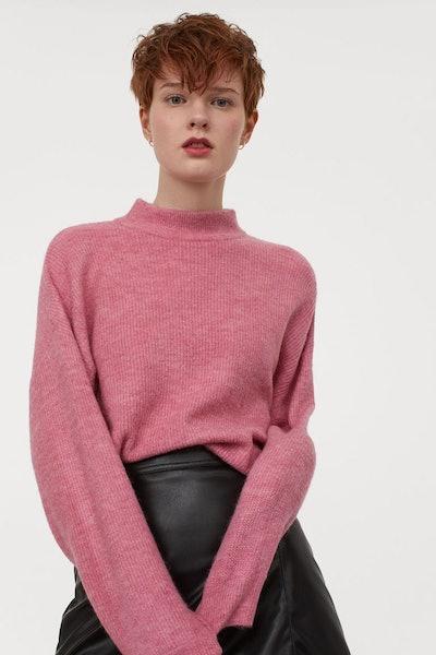 Wide-Cut Sweater