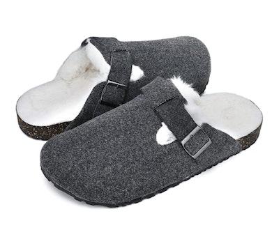 KOLILI Cork Clog Slippers