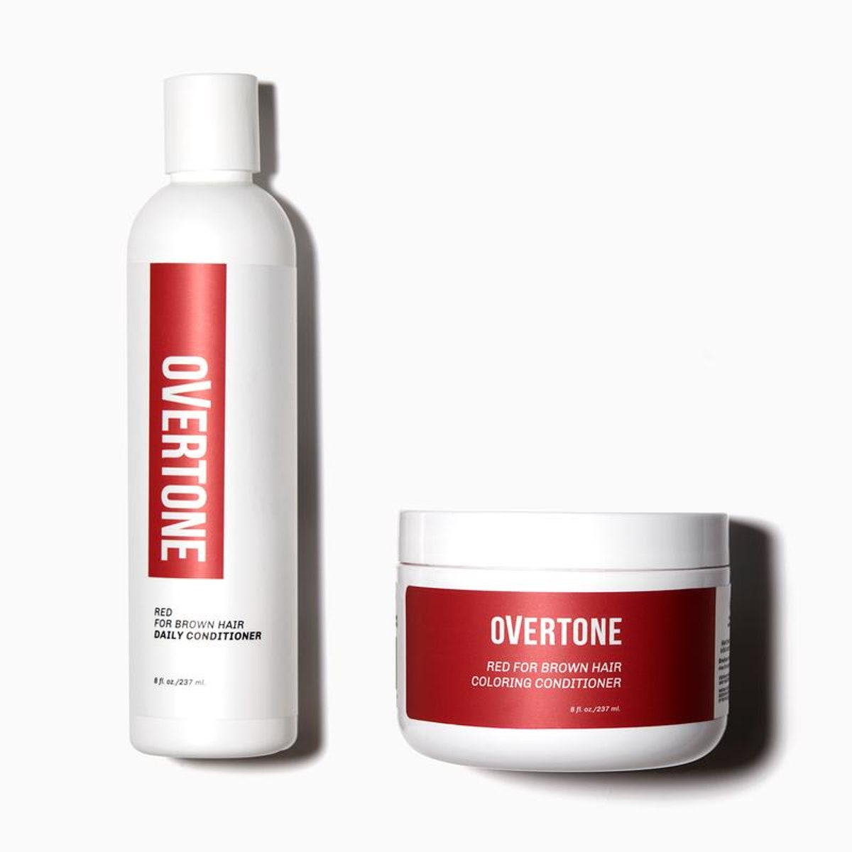 Red for Brown Hair Healthy Color Duo