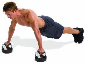 Perfect Fitness Rotating Push-Up Handles (1 Pair)