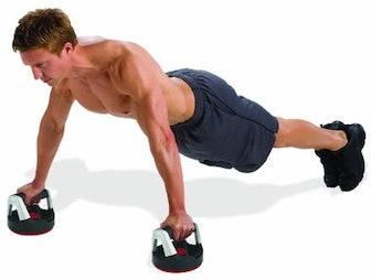Perfect Fitness Rotating Push-Up Handles (1 Pair)