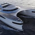 Pierpaolo Lazzarini's Pagurus or Crabmaran solar-powered yacht