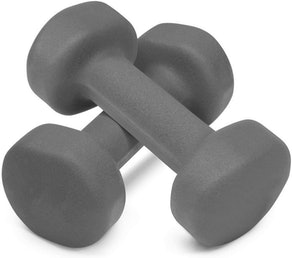 Poecent Neoprene Dumbells (Set of 2)