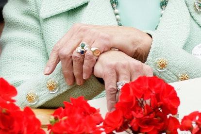 royal engagement rings princess michael of kent
