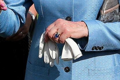 royal engagement rings princess alexandra