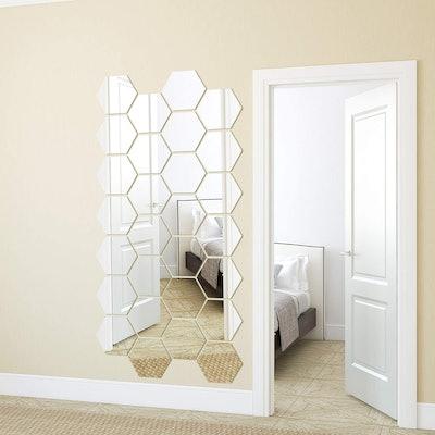 BBTO Adhesive Mirror Tiles (15-Pack)