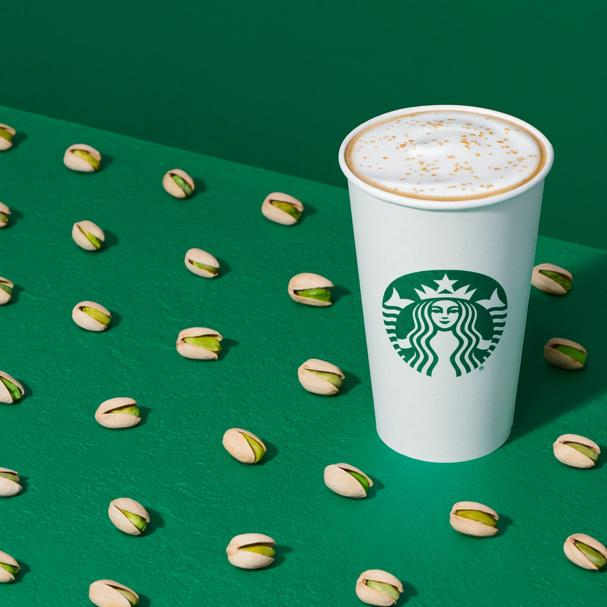 Starbucks' new Pistachio Latte is a revamp of a Starbucks Reserve Roastery sip from 2019.
