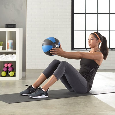 Amazon Basics Medicine Ball for Workouts
