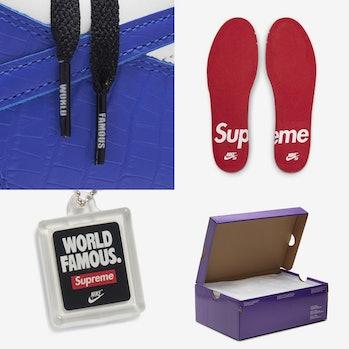 Supreme Nike SB Dunk Low 2021