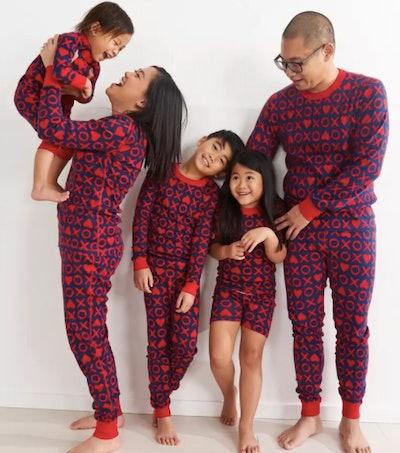 XO Matching Family Pajamas