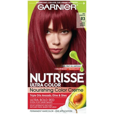 Nutrisse Ultra Color Nourishing Hair Color Crème in R3 Light Intense Auburn