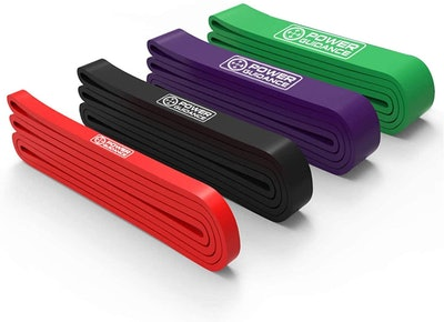 POWER GUIDANCE Pull-Up Assist Bands (Set of 4)
