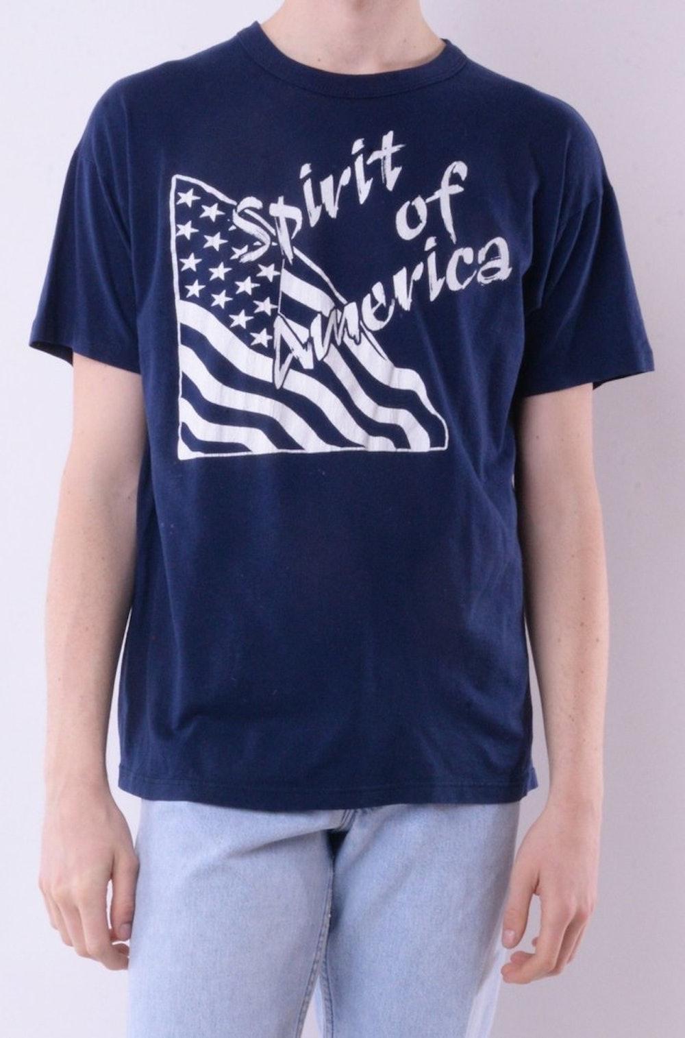 Spirit of America Flag Tee
