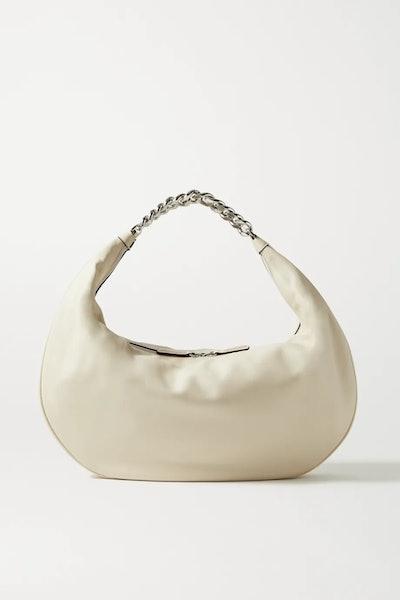 Sasha Large Leather Shoulder Bag