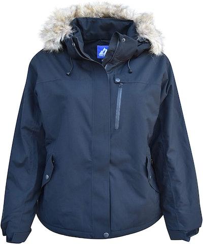 Snow Country Outerwear Plus-Size Fortress Ski Jacket