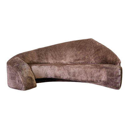 Vladimir Kagan Style Biomorphic Post Modern Sofa