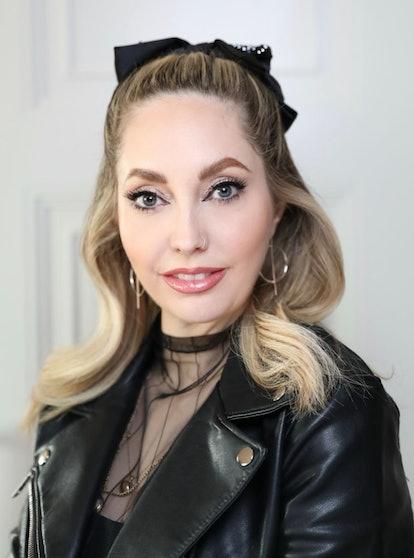 Makeup artist Sarah Tanno