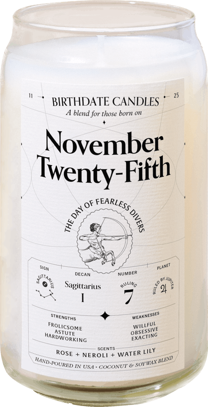 Birthdate Candle