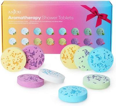 Anjou Aromatherapy Shower Fizz Tablets (16-Pieces)