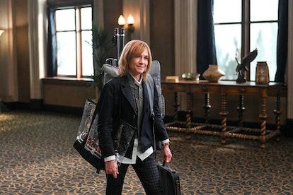 Holly Hunter on Mr Mayor via the NBC press site