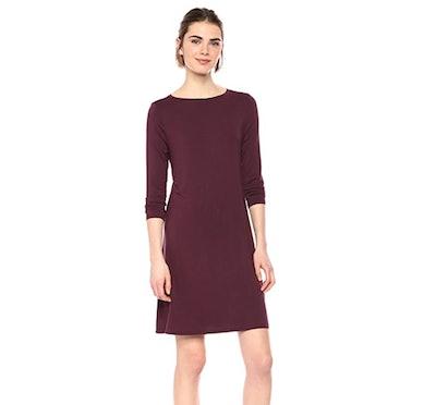 Amazon Essentials Women's Boatneck Dress