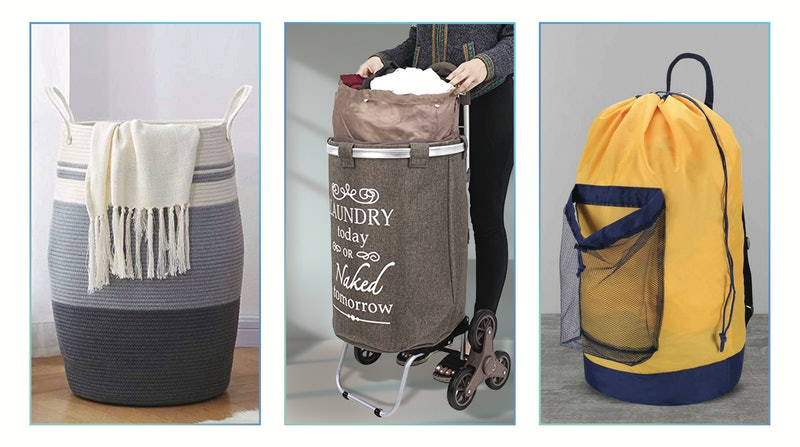 best laundry baskets for stairs