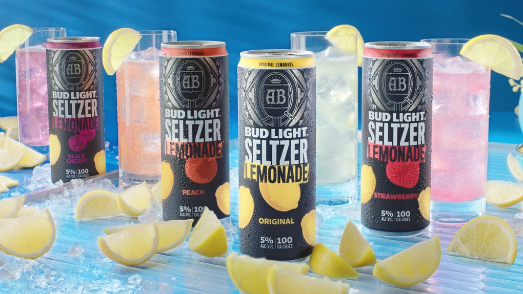 This new Bud Light Seltzer Lemonade features four flavors.