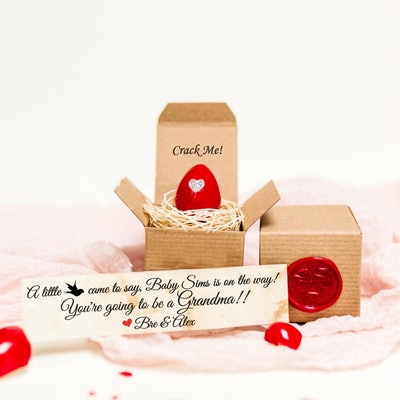CrackMeCreations Valentine's Pregnancy Announcement