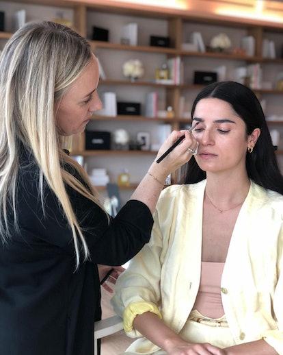 Makeup artist Kate Lee