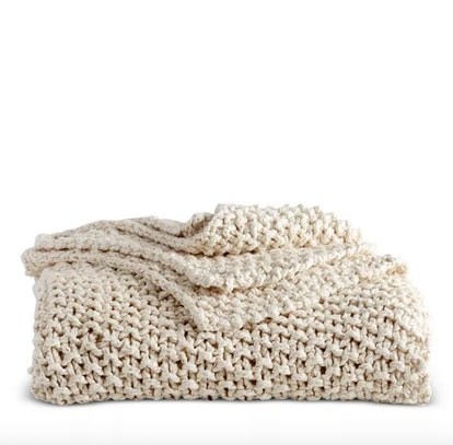 Pure Chunky Knit Throw