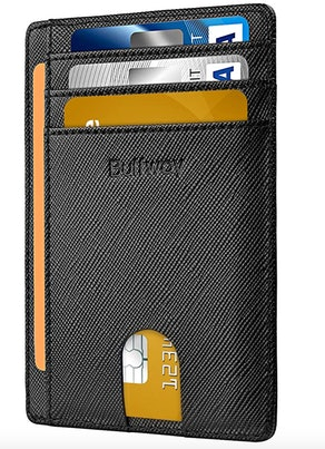 Buffway RFID Blocking Leather Wallets