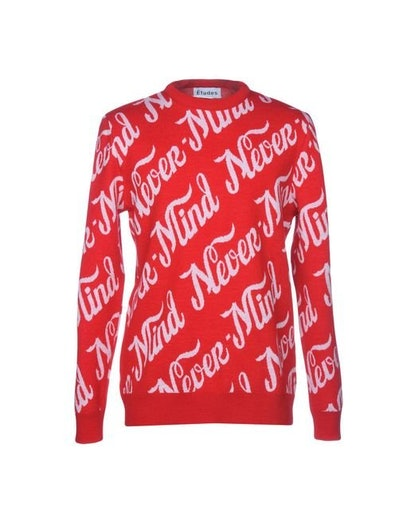 Never Mind Jacquard Knit Sweater