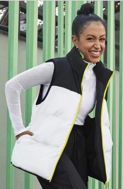 Kristen Reversible Puffer Vest