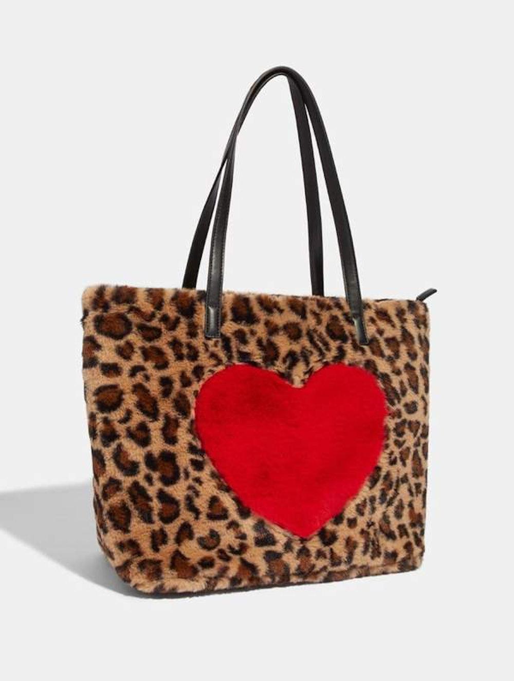 Lola Leopard Shopper Tote Bag