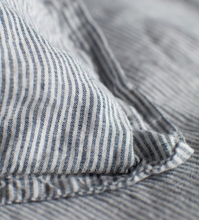 Sid Stripe French Blue Bed Linen