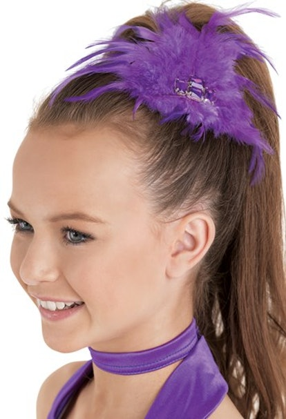 Dancewear Solutions Feather Jewel Hair Clip