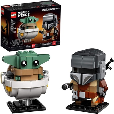LEGO BrickHeadz Star Wars The Mandalorian & The Child Building Kit