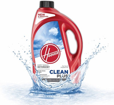 Hoover CleanPlus Concentrated Carpet Cleaner and Deodorizer, 64 oz