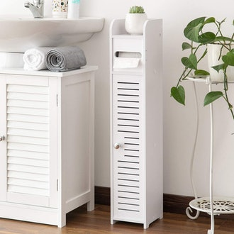 AOJEZOR Toilet Paper Shelf and Holder