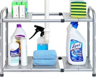 SimpleHouseware Under Sink Expandable Shelf