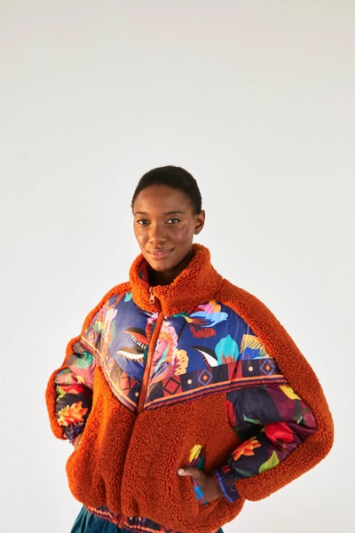 Lucy Floral Puffer