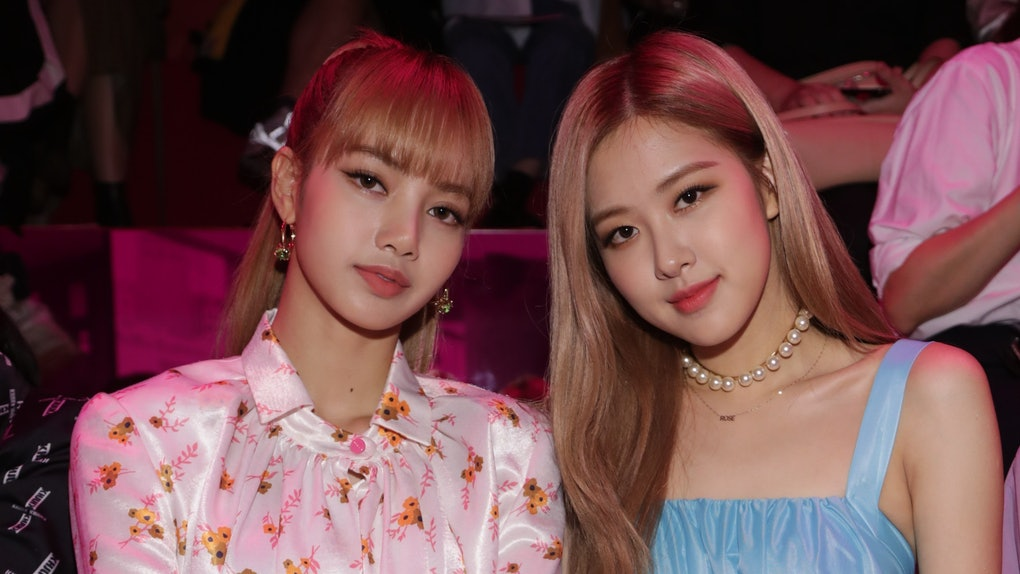 BLACKPINK's Lisa and Rosé