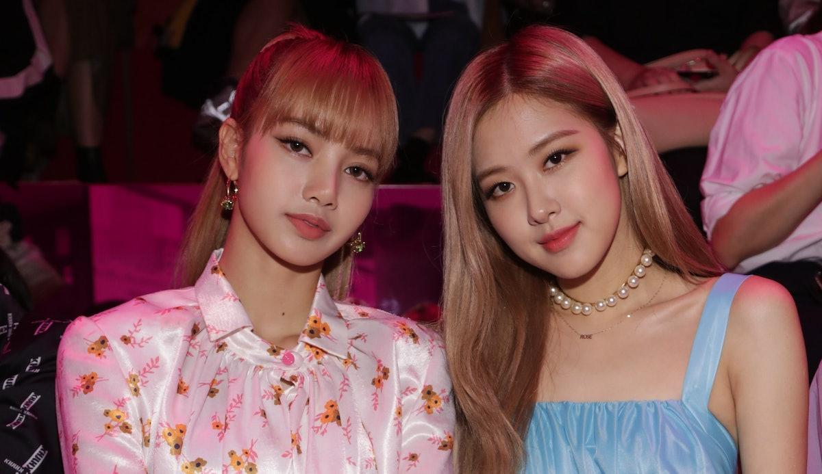 BLACKPINK's Lisa and Rosé
