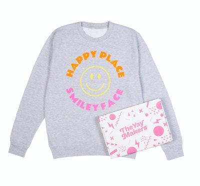 Positively Colourful Sweatshirt
